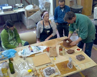 Glass masterclass at Firestation Dublin